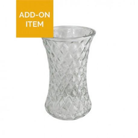 Diamond Effect Vase